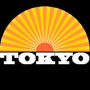 Tokyo Retro Sunset