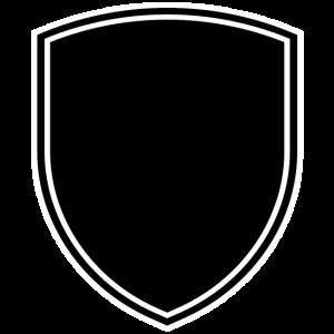 Wappen mit Rand