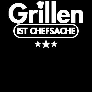Grill SHIRT - Grillen ist Chefsache