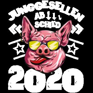 Junggesellenabschied 2020 schwein