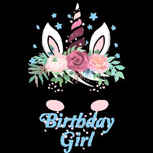 Einhorn Geburtstag Motiv Für Damen Und Mädchen