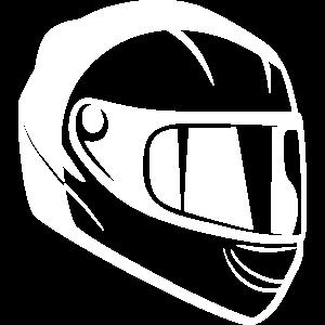 Motorradhelm Helm Rennmaschine Integralhelm Biker