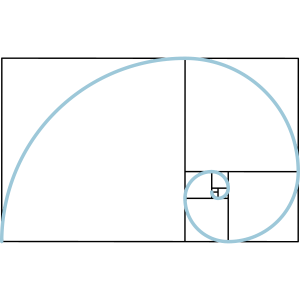 Fibonacci Spirale Goldener Schnitt Geometrie Phi