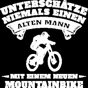 Lustiges Fahrrad Shirt für Rentner