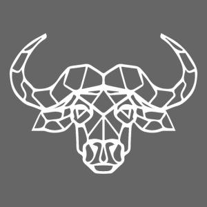 African buffalo white