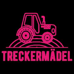Treckermädel Traktor Mädchen Landwirt Geschenk
