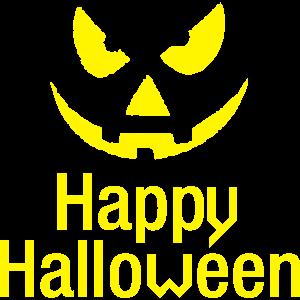 Happy Halloween Gruselig Kostüm Kürbis