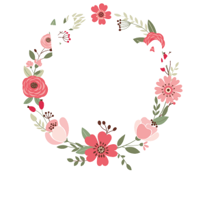 Team Bride Braut Blumenkranz Blumen Verlobung JGA