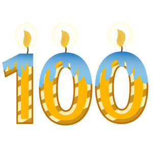 100. Geburtstagsfeier