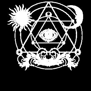 Schwarze Magie 3. Auge Okkult Blackcraft Magie