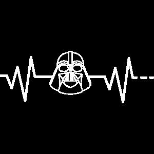 Herzschlag Darth Vader Star Maske Wars Sith Macht