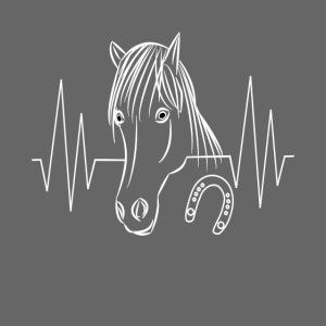 Pferd Pferde Tier Tiere Herzschlag Hufeisen Reiter