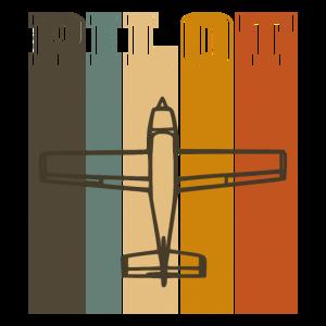 Pilot Vintage Vertical Stripes 70s Color