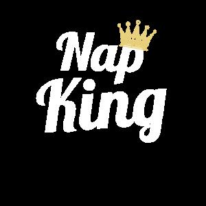 Nap king Mittagsschlaf Power Nap Geschenk