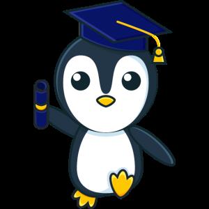 Pinguin Schule Geschenk