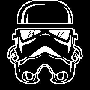 Das Wars Maske Weltraum Galaxy Abi JGA Schulkind