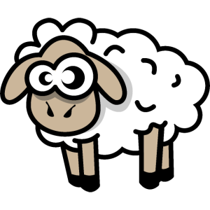 sheep comic symbol