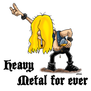 Heavy metal for ever Poster