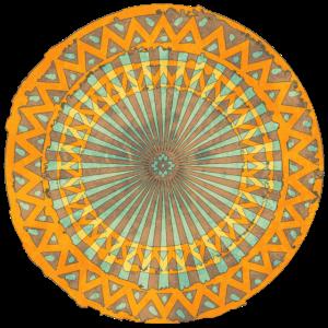 Sonne mystisch Ornament