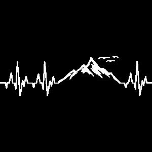 Berge Herzschlag Berg