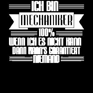 Mechaniker - Arbeit - 100%