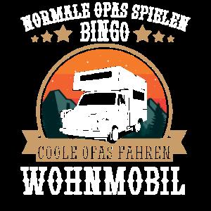 Rentner Shirt mit Wohnmobil für coole Opas