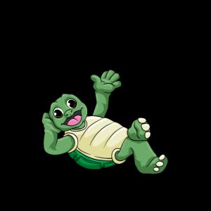 Quarantäne Chillkröte Wortspiel Schildkröte Virus