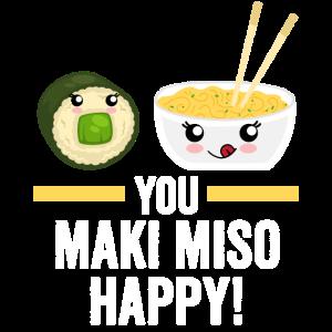 Sushi Maki Miso
