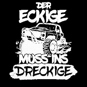 Offroad Geländewagen Spruch
