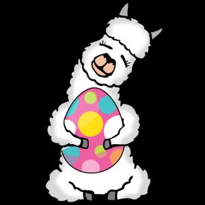Ostern Lama Alpaka Für Damen, Herren Und Kinder