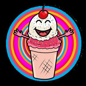Sommer Eiskrem Eis Süßigkeiten Eiskrem Eisdiele