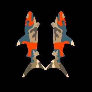 Shark crest