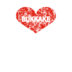 I Love Bukkake Heart