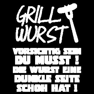 Grillwurst Shirt - Gillsaison grillen Grillmeister