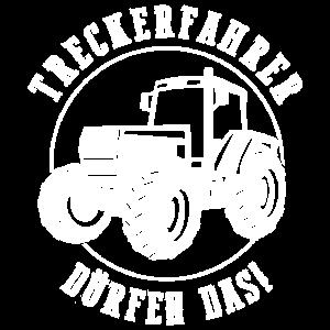 Treckerfahrer dürfen das lustiges Traktorfahrer Ge