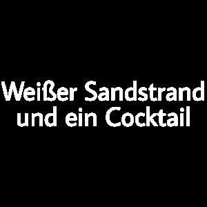 Strand Cocktail Idylle Paradies Urlaub Insel Meer
