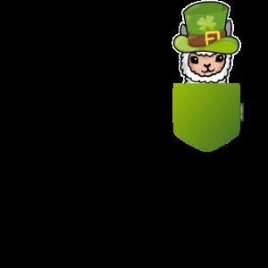 St. Patricks Day Lama Für Damen, Herren, Kinder