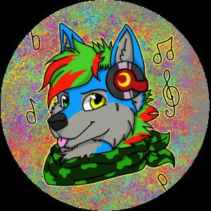 Pelzige Wolfmusik