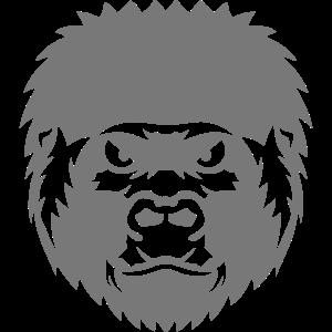 Gorilla Wildtier Zeichnung 2706