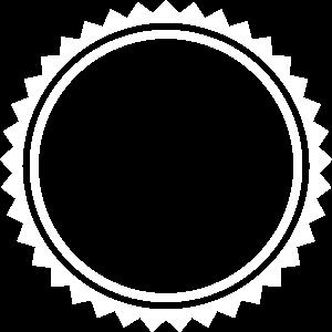 Emblem kreis symbol leer icon