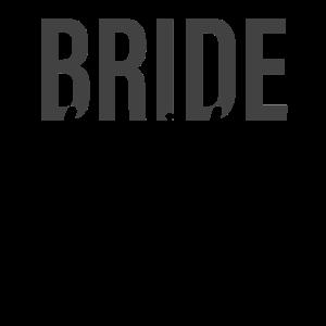 Braut Schriftzug