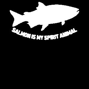 Salmon Is My Spirit Animal Lachs Fischer