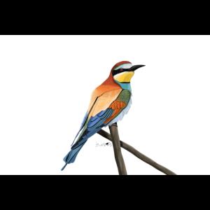 jz.birds Bienenfresser Vogelmotiv Dekoration