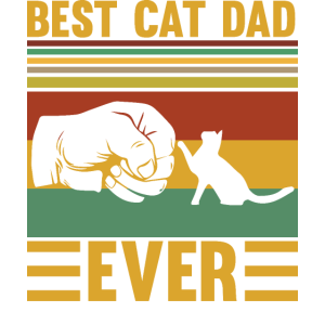 Katze - Best cat dad ever