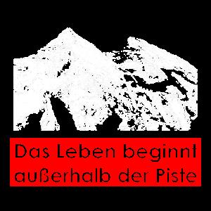 Tourengeher Ski Piste Tourenski