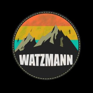 Watzmann Vintage Berg als Geschenk mit klettern
