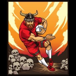 Rugby Viking - Nordischer Rugby Team Player
