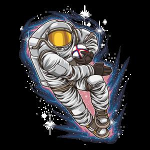 Rugby Astronaut - Galaxy Sport Rugby Team