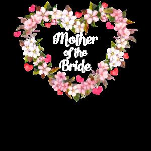 Mutter der Braut Tochter Mutter Hochzeit Ehe
