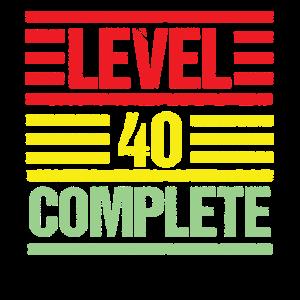 Level 40 Complete